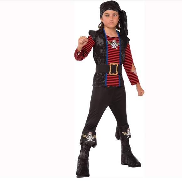 f963ae4e Rubie's Costumes | Buccaneer Rogue Pirate Boys Halloween Costume 810 ...